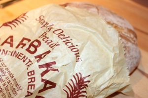Artisan bread from Barbakan Deli
