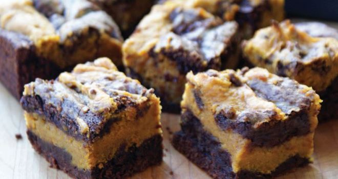 Eric's pumpkin brownies