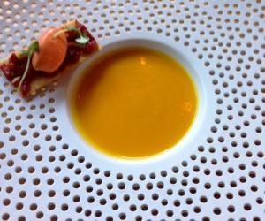 Manchester House pumpkin soup
