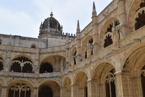 Jeronimos Monastery, Lisbon. Built in the 15th century, this pretty building dominates the skyline as you enter Lisbon's Belem district. It's also the birthplace of the mouthwatering 'pastel de nata' - a kind of custard tart that I'm determined to master (recipe to follow if I succeed!).