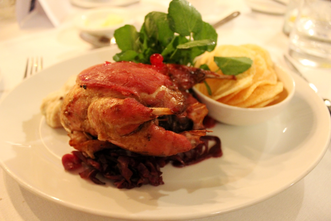 roast grouse